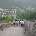 Visit to the Great Wall at Badaling